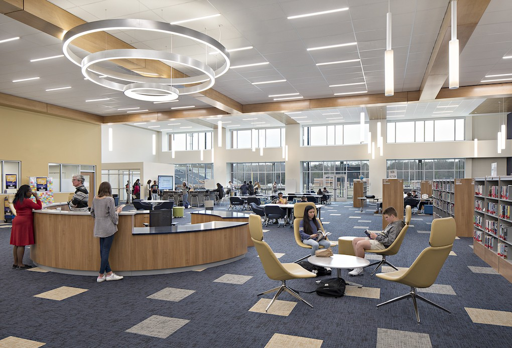 Teamwork and Vision for the new Spartanburg High School