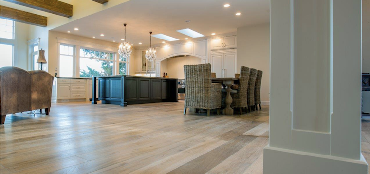 Oil-Finished Floors Provide Natural Elegance