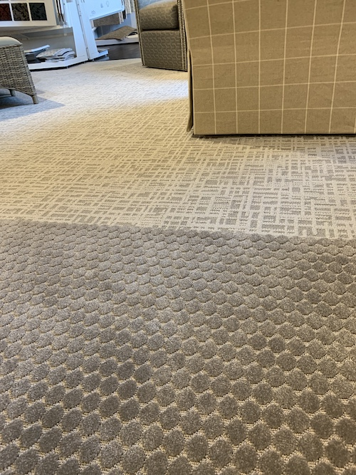 New Showroom Carpet