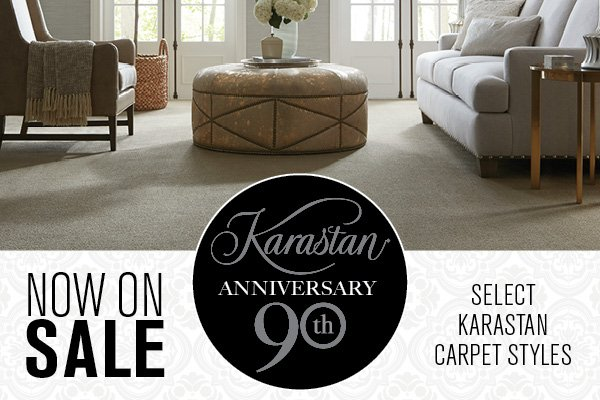 Karastan's 90th Anniversary Sale