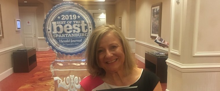 We're proud to be Best of the Best again in 2019! Thank you Spartanburg!