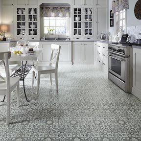 Filigree Iron Luxury Vinyl Tile